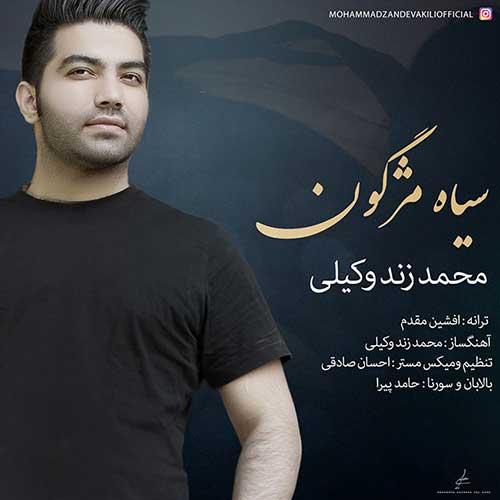 دانلود آهنگ جدید محمد زندوکیلی به نام سیاه مژگون