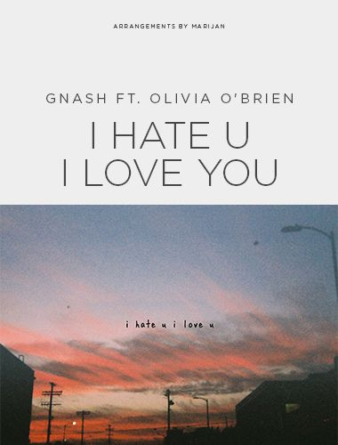 دانلود آهنگ I Hate You I Love You از Gnash Ft Olivia