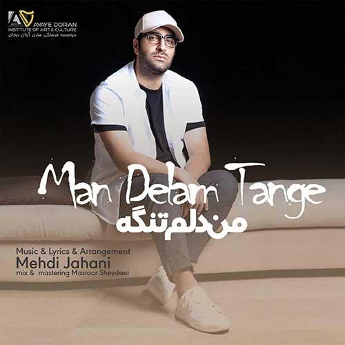 Mehdi Jahani Man Delam Tange - دانلود آهنگ جدید مهدی جهانی من دلم تنگه