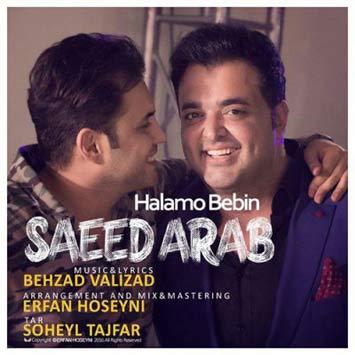 Saeed%20Arab%20 %20Halamo%20Bebin - دانلود آهنگ جدید سعید عرب به نام حالمو ببین